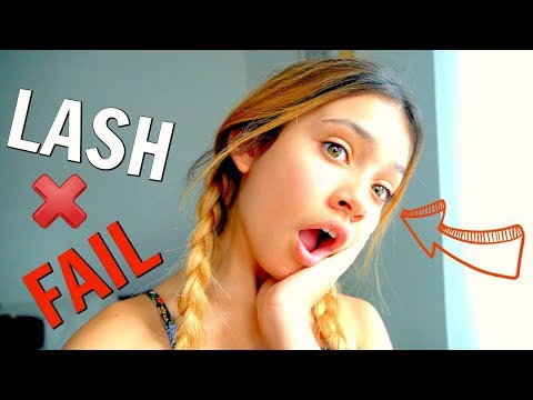 New Eyelash Extensions Failed + Unboxing makeup