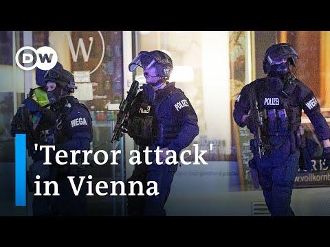 'Islamist terror attack' in Austria's capital Vienna leaves four dead   DW News