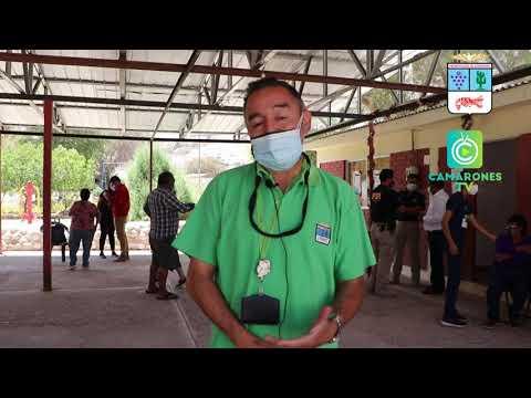 Inicia campaña YO ME VACUNA en la comuna de Camarones