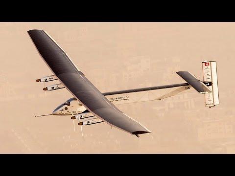 Solar Impulse Begins First Round-the-World Flight