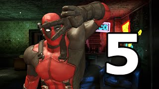 Deadpool Walkthrough Part 5 - No Commentary Playthrough (PC)