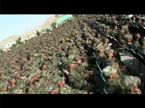 Shafiq Mureed concert for Afghan National Army at (KMTC)