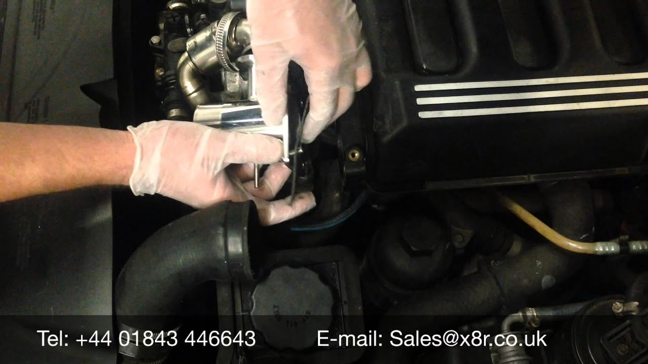 bmw egr stainless steel removal bypass blanking kit install instruction guide [ 1280 x 720 Pixel ]