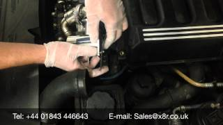 BMW EGR Stainless Steel Removal Bypass Blanking Kit Install Instruction Guide