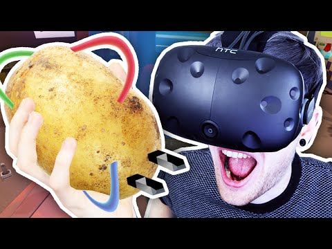 Thumbnail: POTATO POWERED VR CARS?! | Job Simulator