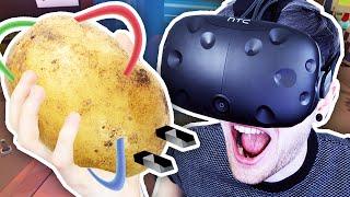 POTATO POWERED VR CARS Job Simulator