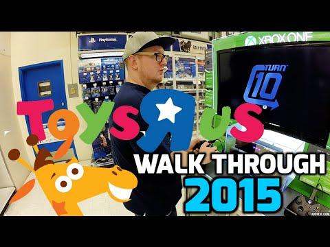 Walking Through Toys R Us June 2015 Phoenix Arizona!