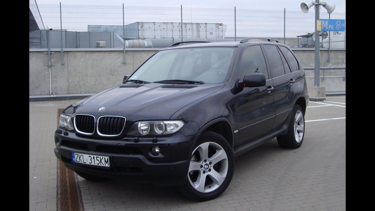 BMW X5 E53 2005 Overview - YouTube
