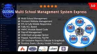 How to Install Campus Management System | Multi-school Management System