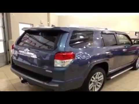 2013 toyota 4runner 4wd v6 limited for sale at sherwood park toyota scion youtube. Black Bedroom Furniture Sets. Home Design Ideas