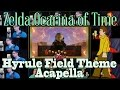 Zelda Ocarina of Time Hyrule Field Theme Acapella w/Triforce Films & Jaron Davis