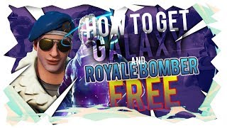 HOW TO GET THE GALAXY AND ROYALE BOMBER SKINS *FREE* in FORTNITE BATTLE ROYALE