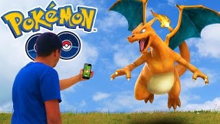 Pokemon GO | WE FOUND CHARIZARD!