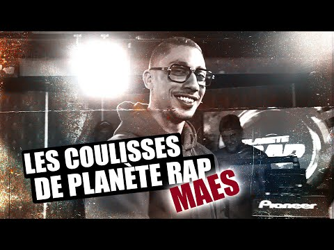 Youtube: Inside Planète Rap – Maes #PlanèteRap