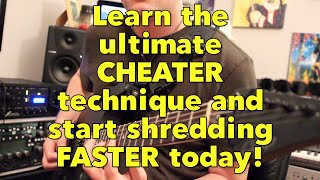 Shred like Nuno and EVH NOW using this CHEATER speed technique! | Weekend Wankshop 240