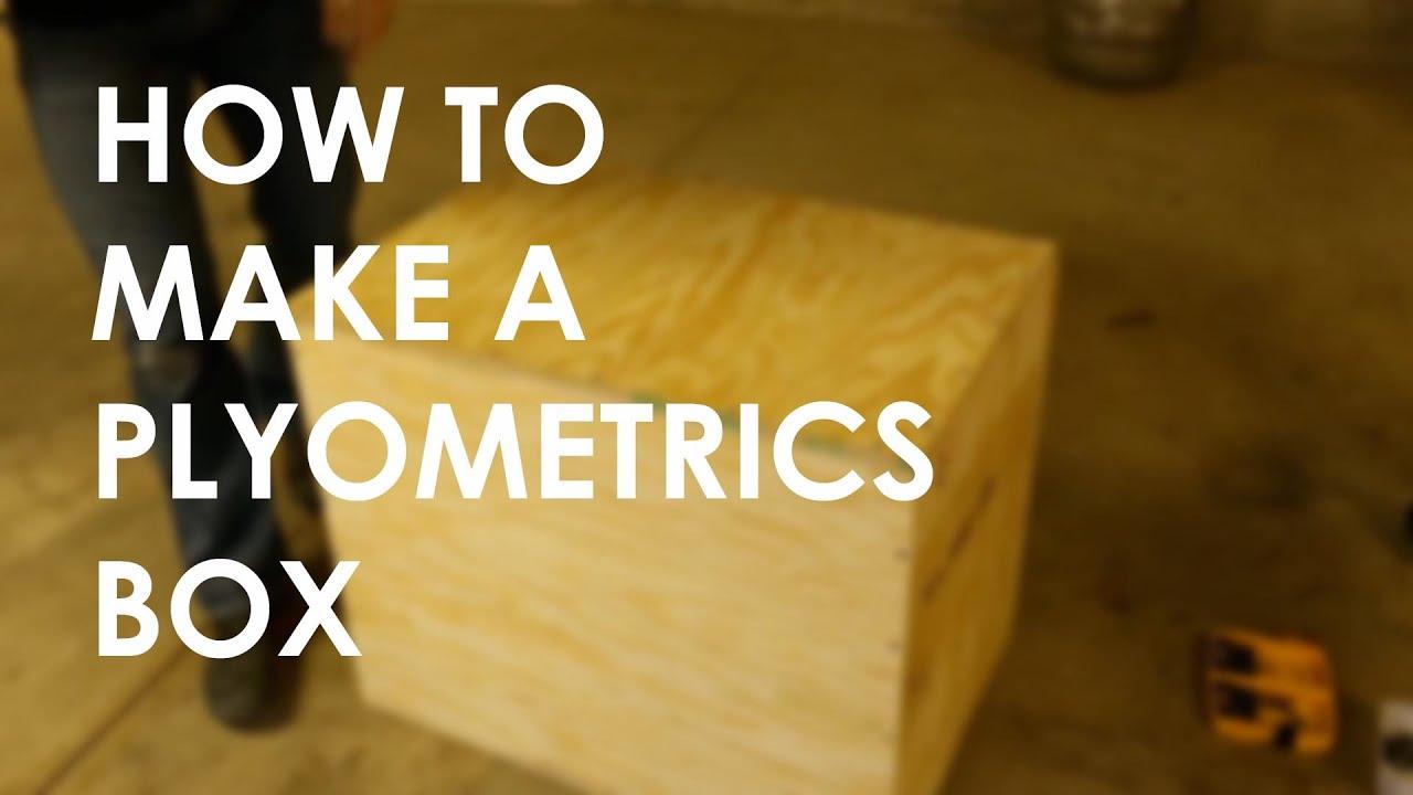 How to Make a DIY Plyometrics Box | The Art of Manliness - YouTube