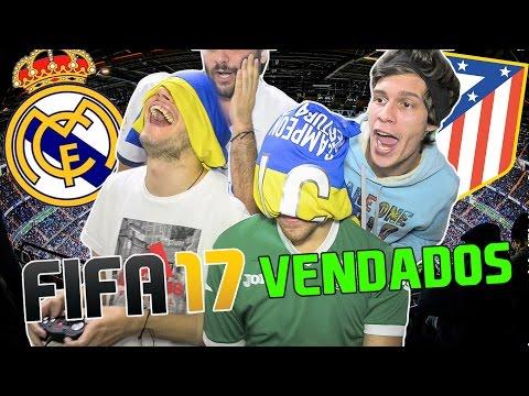 REAL MADRID vs ATLETICO MADRID   Champions 2017   FIFA 17 VENDADOS