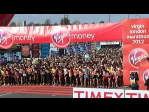 London Marathon 2013 (US Blasts Spark Security 2013)