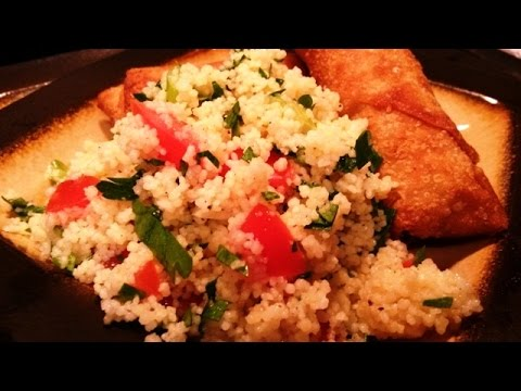 Fresh, Simple & Easy Couscous Salad