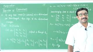 II PUC | Mathematics | Determinants-11
