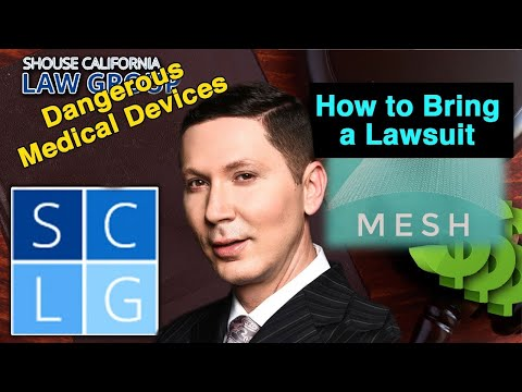 How to Bring a Hernia Mesh Lawsuit