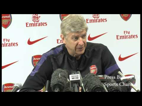 Arsene Wenger Pre Newcastle vs Arsenal