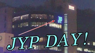 IT'S JYP DAY! / Visiting JYP Entertainment