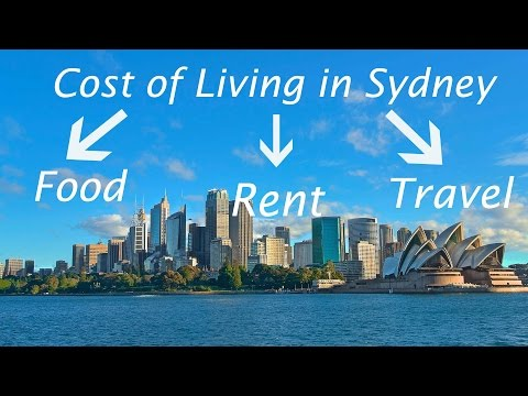 Cost Of Living In Sydney - Australia