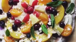Cashew Cream Fruit Pizza