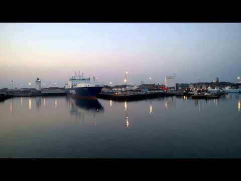 Denmark. Ferry from Fanø (Fano) island to Esbjerg