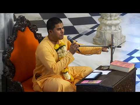 Evening Bhagavad Gita Class 02 16 by  Pushotam Hari Prabhu on 5th Mar 2018 At ISKCON Juhu