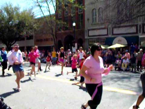 Race for the Cure in high heels.AVI