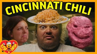 Cincinnati Chili Monster | Matty Matheson | Just A Dash | S2 EP 2 | Halloween Special!