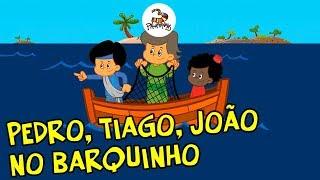 Pedro, Tiago, João no barquinho - 3Palavrinhas - Volume 4 thumbnail