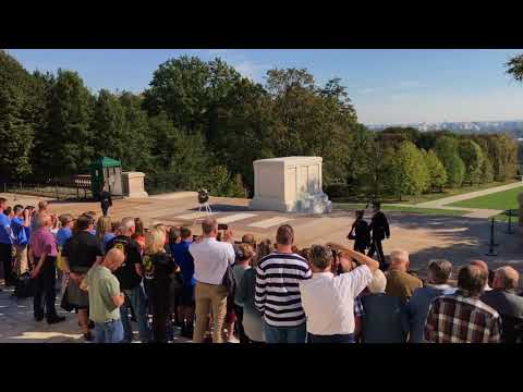 Arlington National Cemetery- Tomb of the Unknown Soldier - Changing of the Guard
