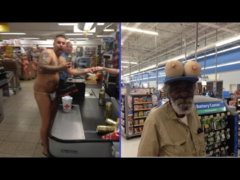 People Of Walmart - Funny Walmartians - Walcreatures - Fail Photos  Compilation