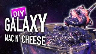 DIY Galaxy Mac N' Cheese