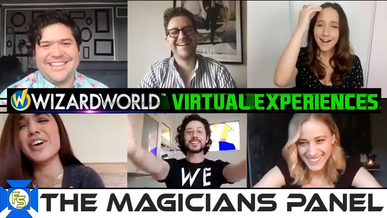 Download THE MAGICIANS Cast Panel – Wizard World Virtual Experiences 2020