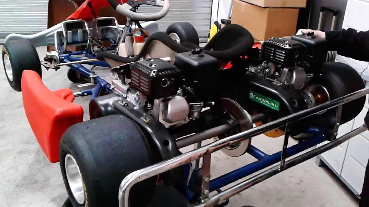 Honda Pro Kart - Track Prep