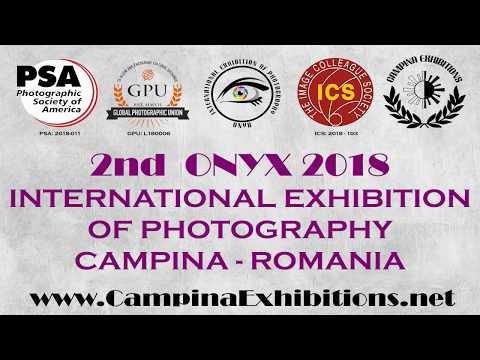 2nd ONYX 2018 International Exhibition of Photography, Romania