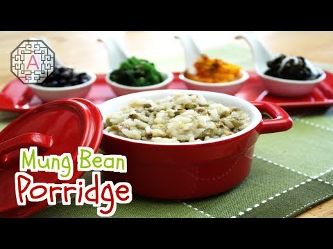 【Korean Food】 Mung Bean Porridge (녹두죽)