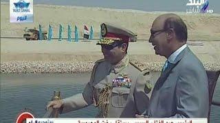 الرئيس عبد الفتاح السيسي يستقل يخت المحروسة