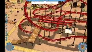 Roller Coaster Tycoon 3 - Goldrush! - Walkthrough Gameplay PC