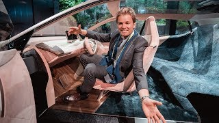 CRAZY BMW CONCEPT CAR & MKBHD AT CES | NICO ROSBERG | eVLOG
