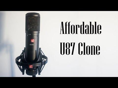 sE Electronics 2200a Mk II - Affordable U87 Clone