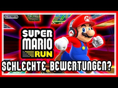An die Leute, die Super Mario Run 📱 schlechte Bewertungen reindrücken!