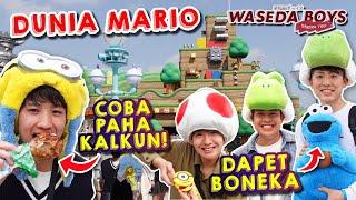 Download lagu MAIN KE DUNIA MARIO DI UNIVERSAL STUDIO JAPAN! SERU BANGET! | Sakura Trip #7