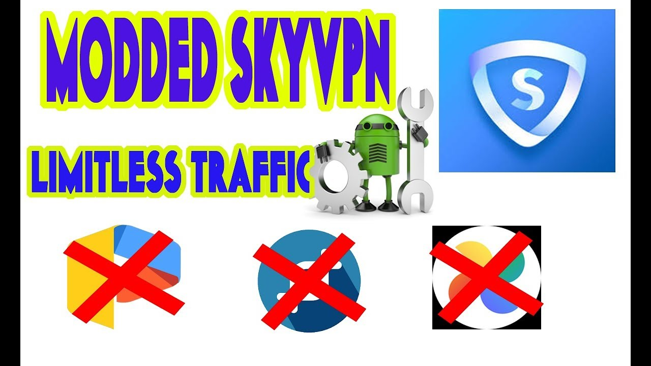 SKYVPN Modded unlimited 1 4GB per account created working for rooted device  only by Im Franz