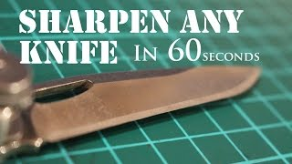 The Laziest Way to Sharpen Any Knife to Razor Sharp 2 thumbnail