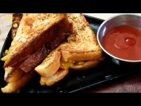 Bread Sandwich Recipe ( 2 min. Breakfast Recipe in mansoon ...